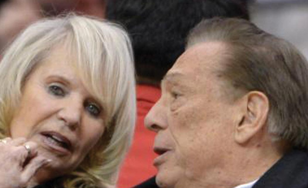 """Donald-Sterling's-wife,-""""friend""""-in-court"""