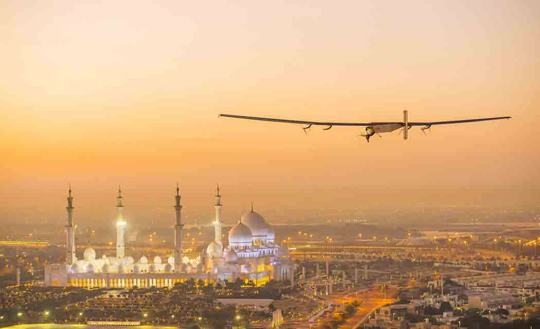 Solar-powered-plane-takes-off-for-flight-around-the-world