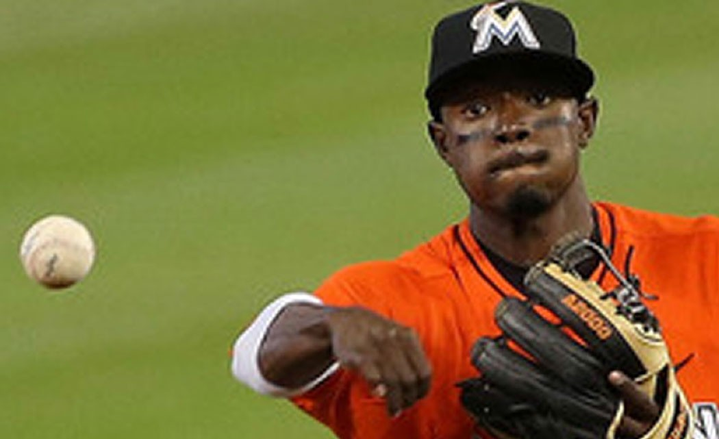 Marlins'-Dee-Gordon--is-hitting--above-.400