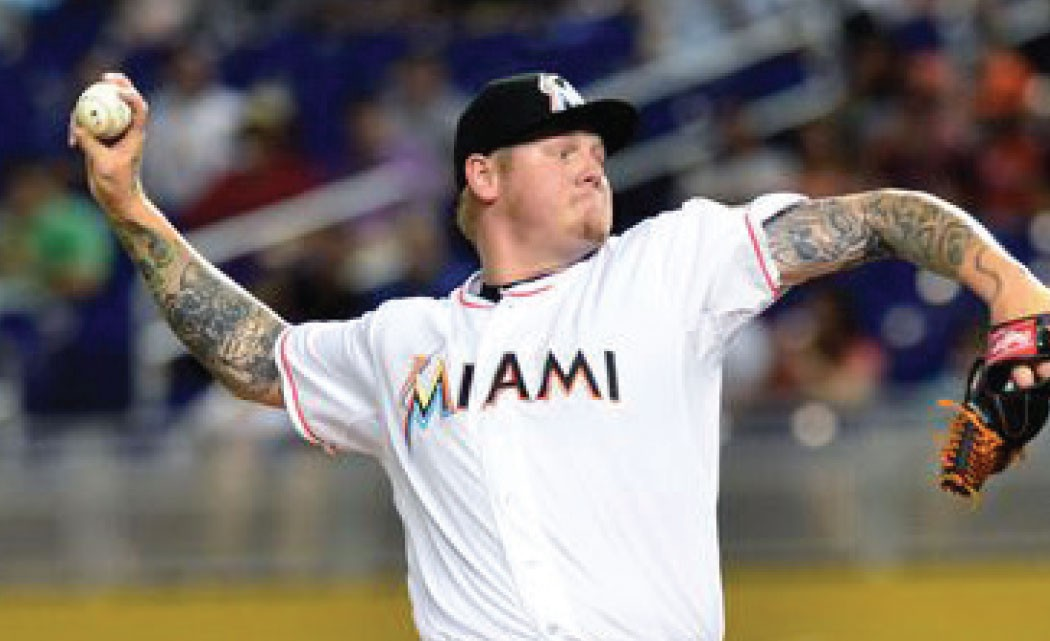 Marlins-pitcher-Mat-Latos-injured,-leaves-game-with-bruised-shin