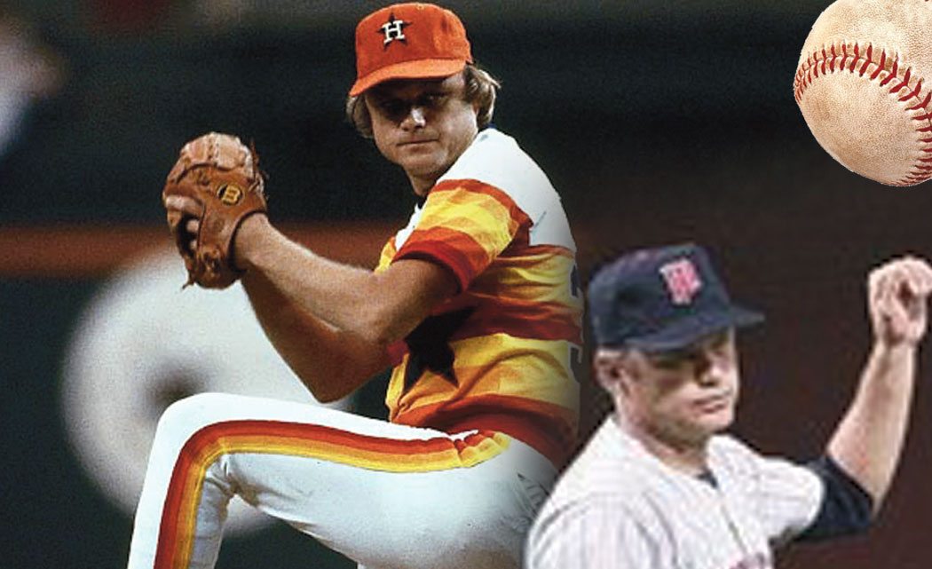 (Left to right) Joe Niekro and Perry.