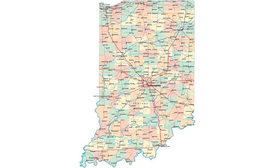indiana-road-map