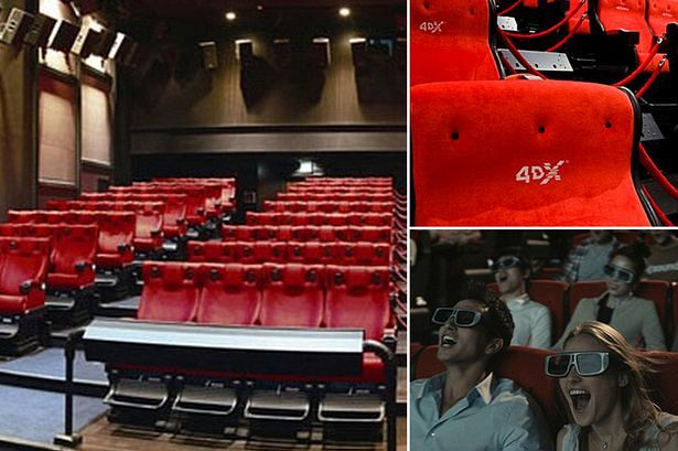 4-D seats in theaters
