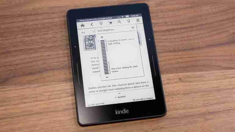 Amazon e-reader
