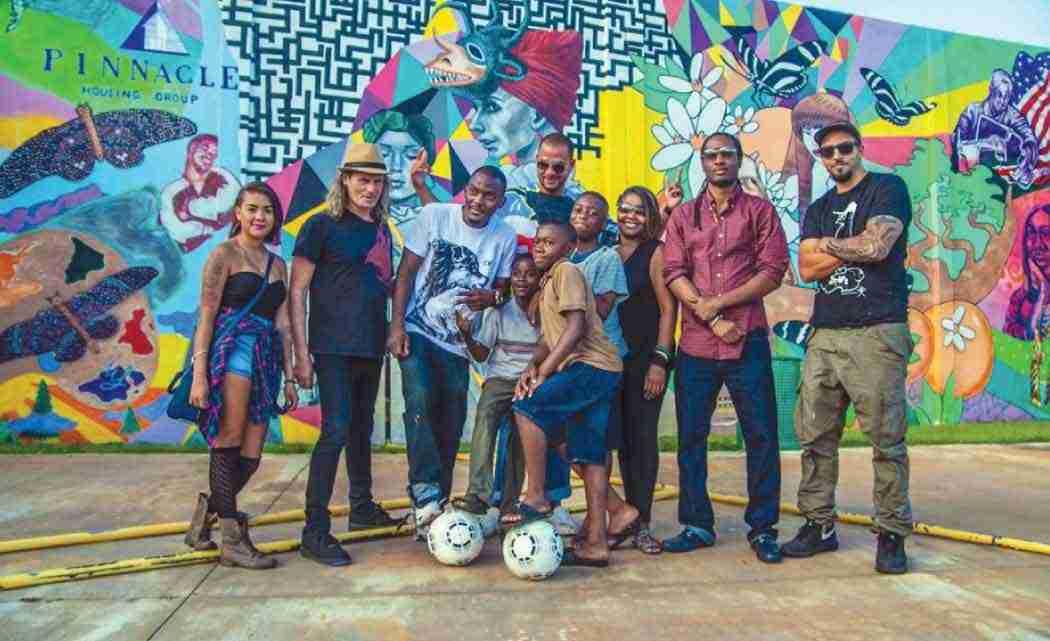 Housing-developer,-children's-group-dedicate-art-at-Little-Haiti-soccerpark