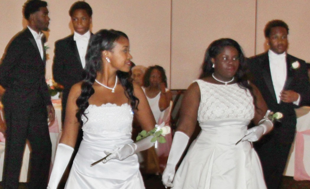 Pi-Delta-Omega-Chapter-presents-five-young-ladies-at-cotillion