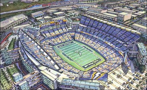 San Diego mayor eyes Charger stadium