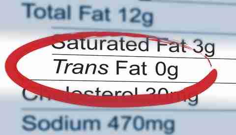 artificial trans fats