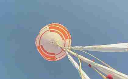 nasa parachute