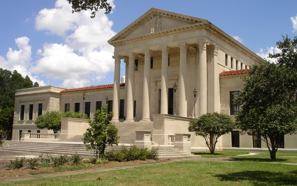LSU law building