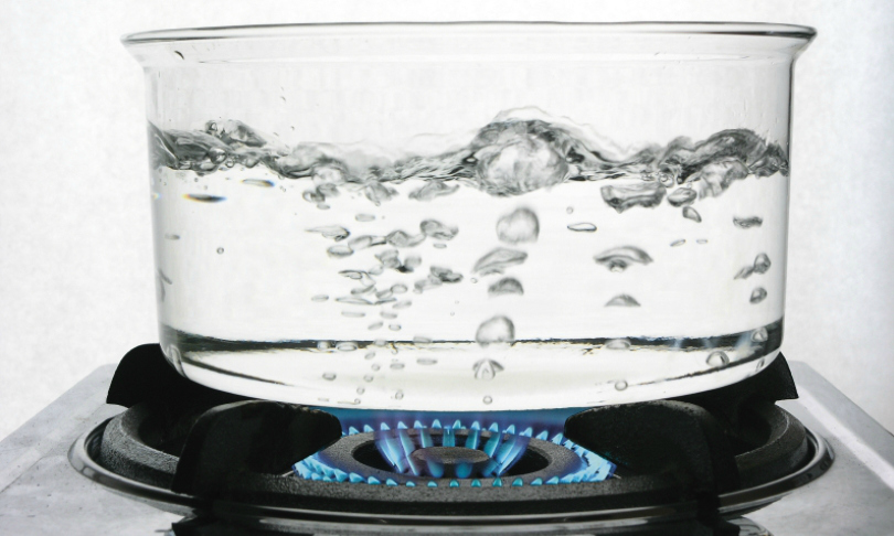 Boiling Water on Gas