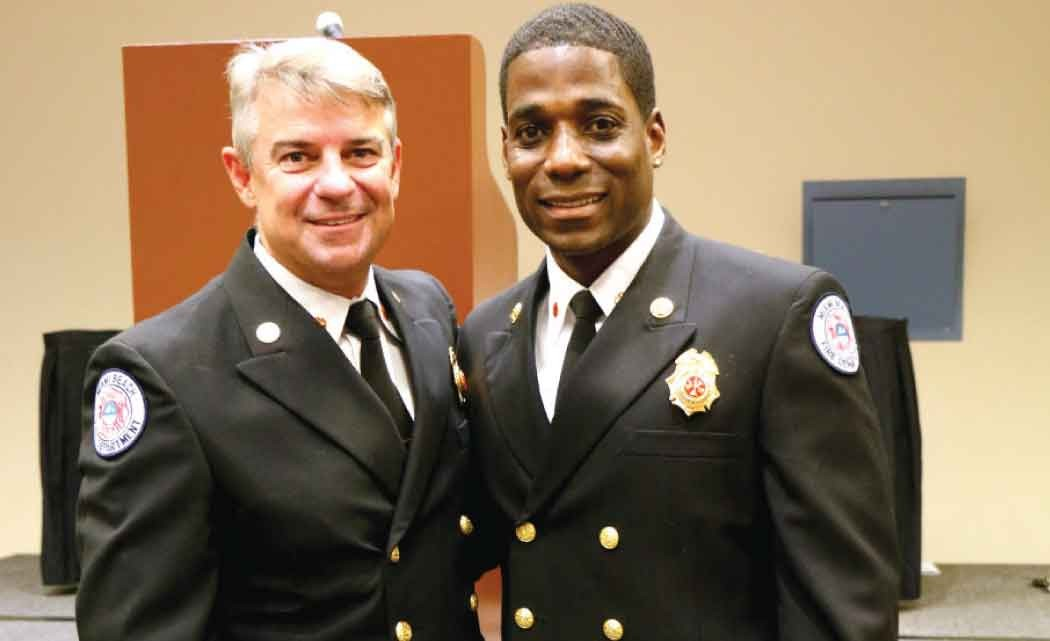 Miami-Beach--Fire-Department-promotes-first--African-American-within-ranks-to--Division-Chief