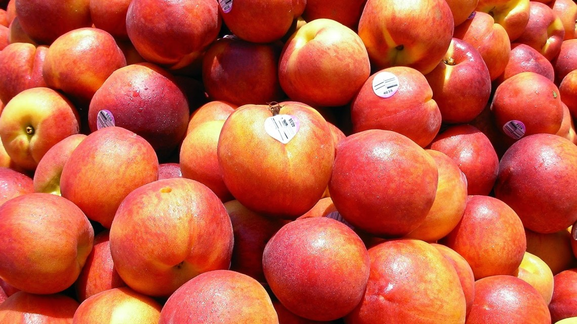 Peach crops