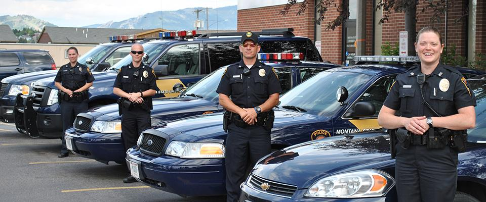 The University of Montana campus police