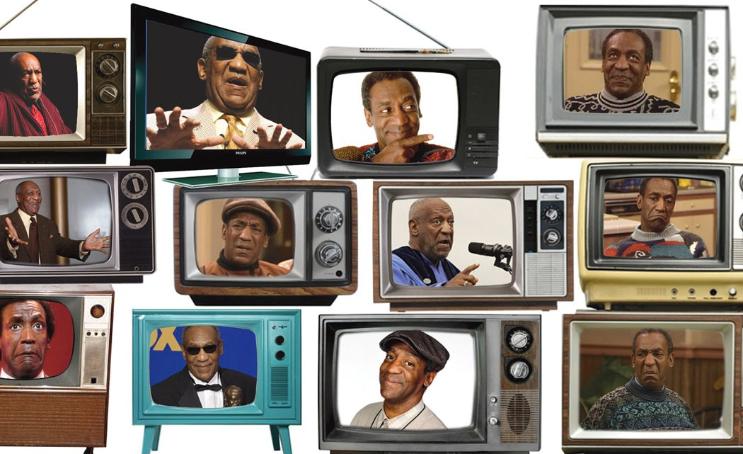 The-many-faces-of-Bill-Cosby