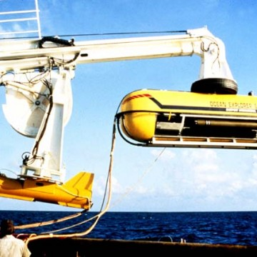 deep-sea sonar towing