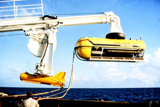 deep-sea sonar towing