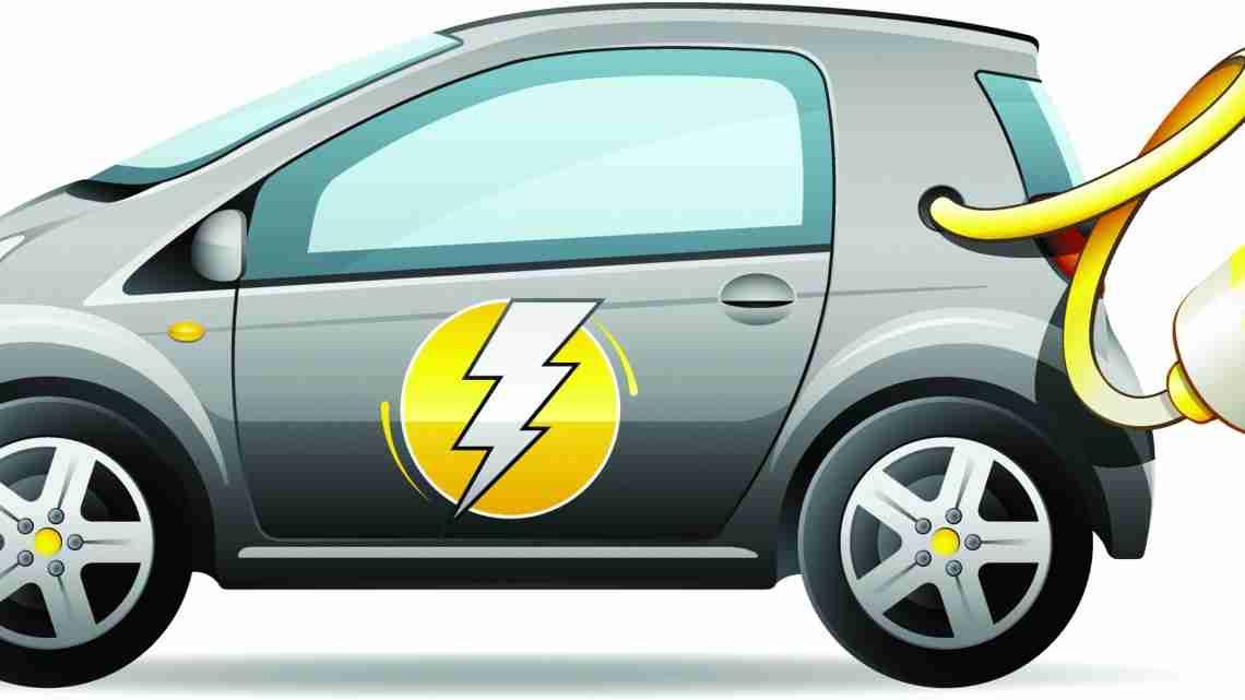 Little electric car