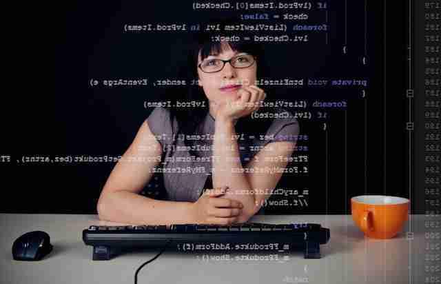 female coder