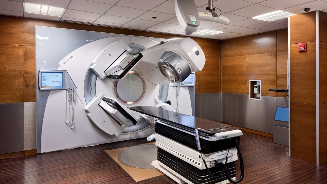 radiation room