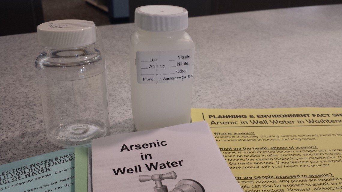 water testing for arsenic