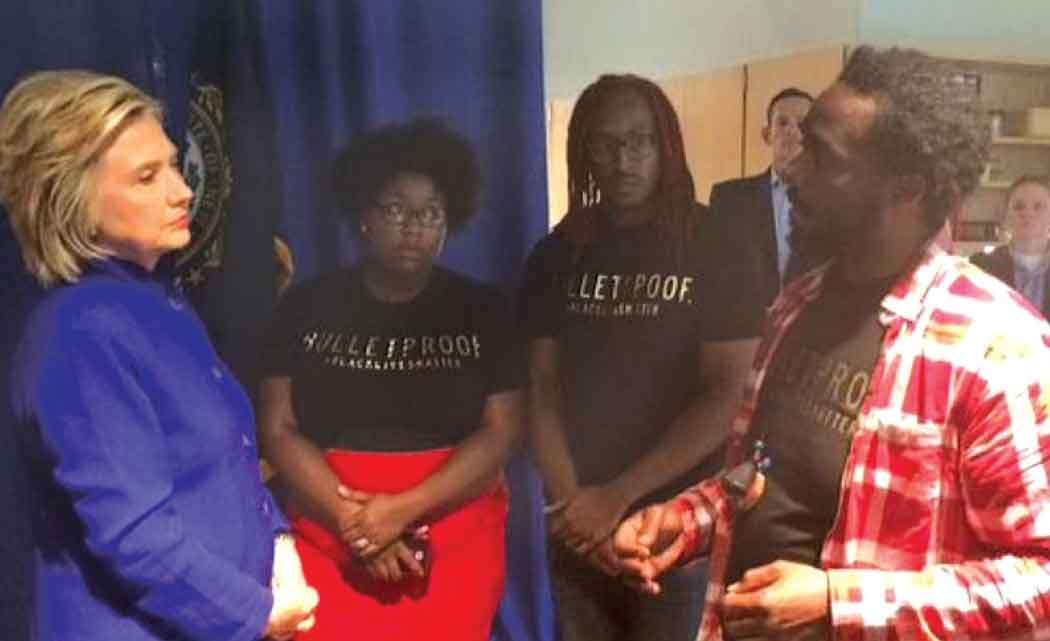 Clinton-to-black-activists--Look--beyond-'changing-hearts'