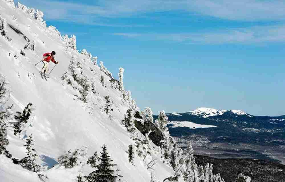 Saddleback ski  resort