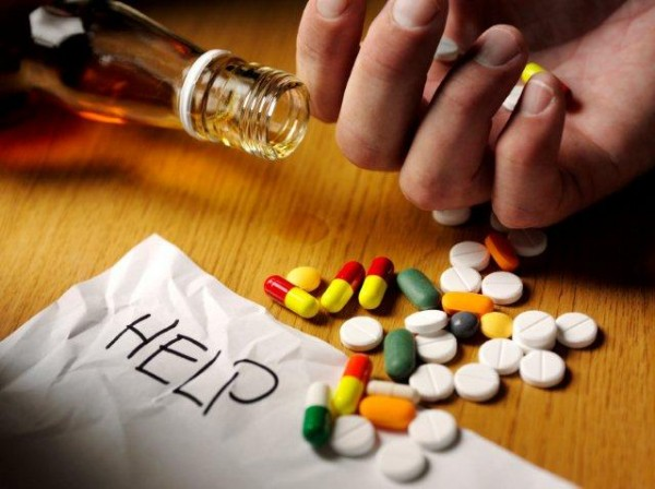 alcohol and drug addictions.