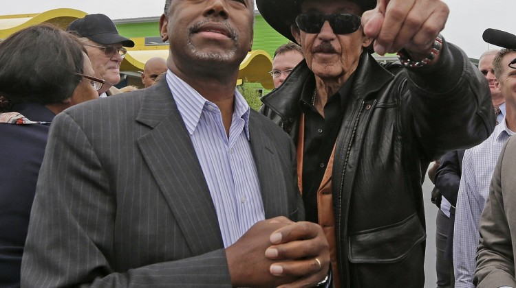 Ben Carson and Richard Petty