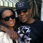 Bobbi Kristina and Bobby Brown