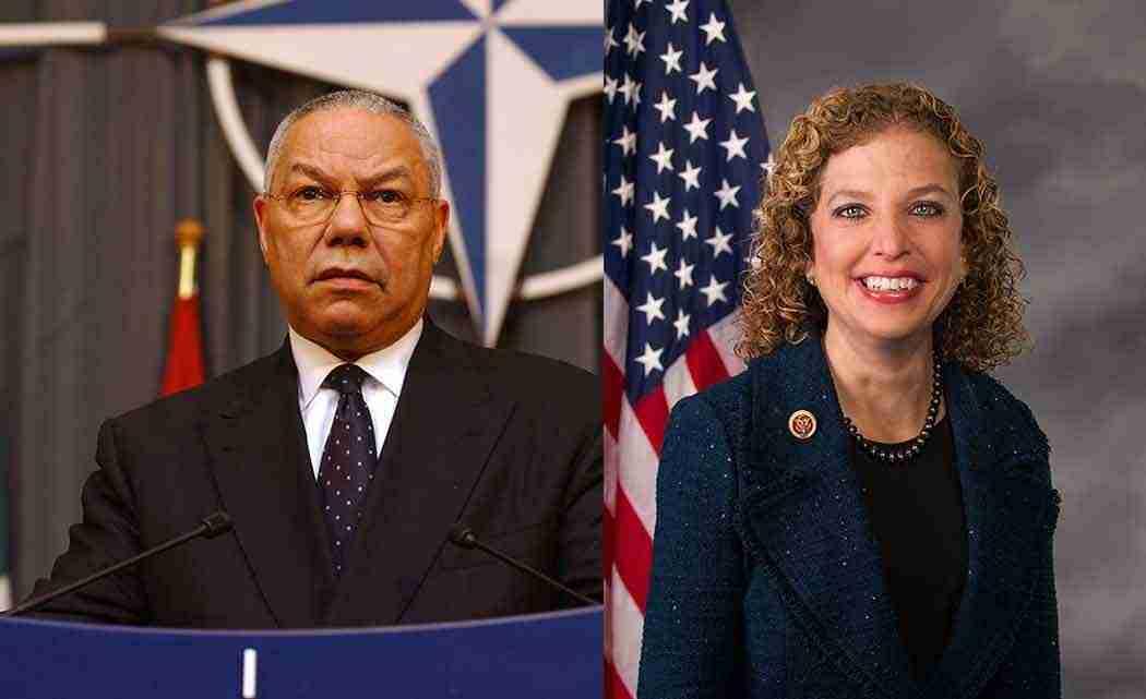 Powell,-Wasserman-Schultz-support--Iran-nuclear-deal