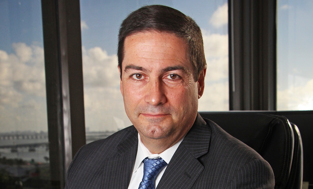 06/18/15-  Miami-  Ramon A. Abadin, Partner, Sedgwick LLP, and president of the Florida Bar 2015-16.