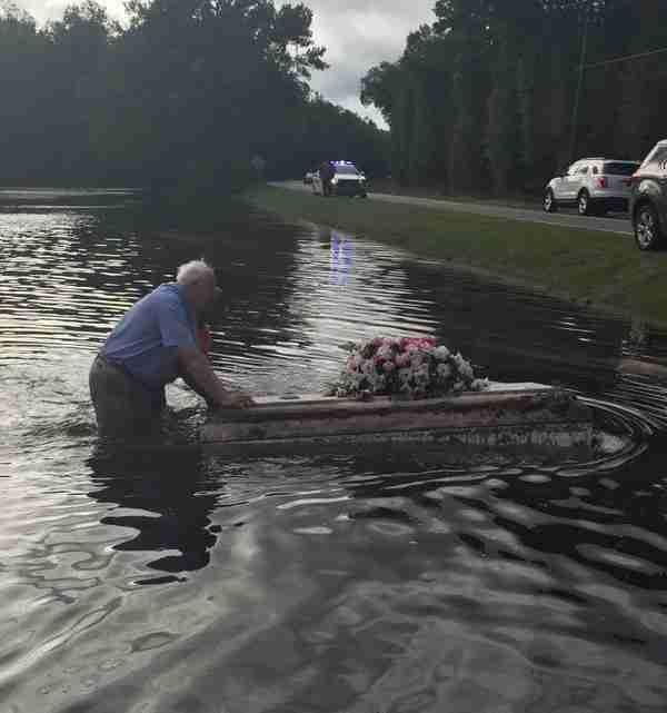 Flooded Casket