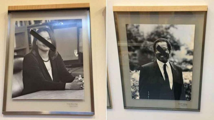 Portraits-of-black-faculty-members-defaced-at-Harvard-Law-