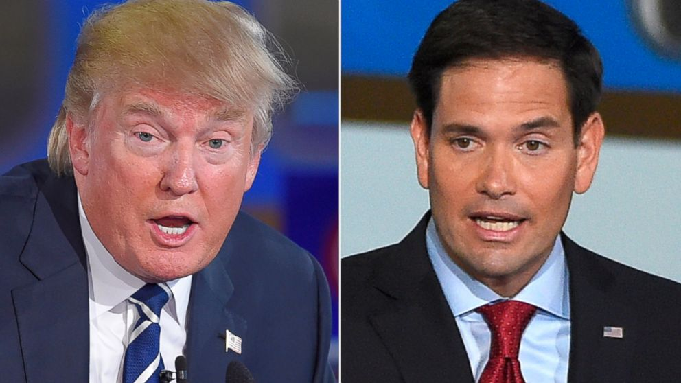 Trump  vs Rubio