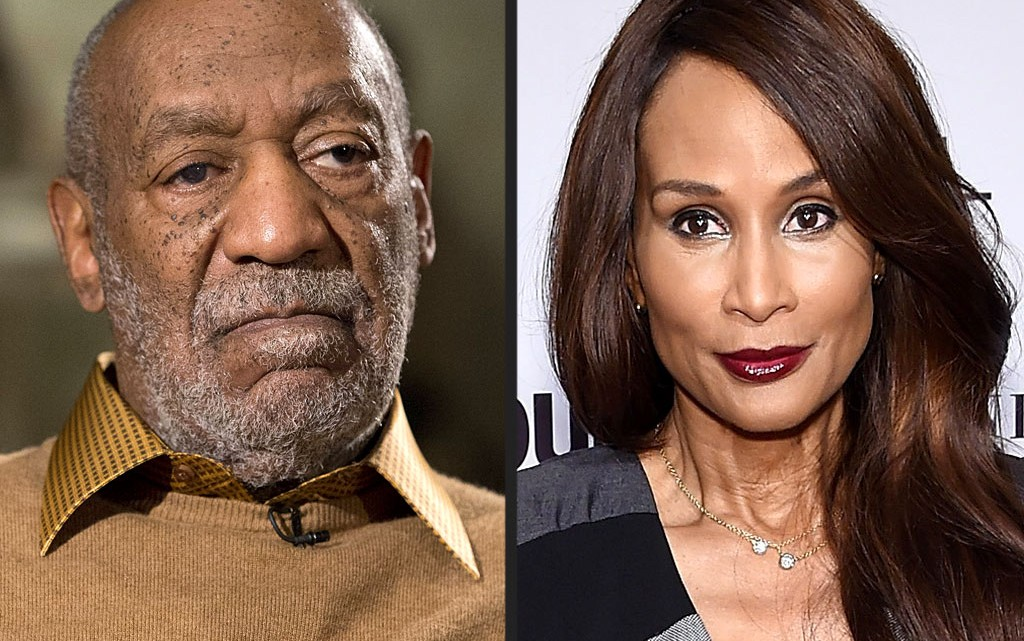 Bill Cosby and Beverly Johnson