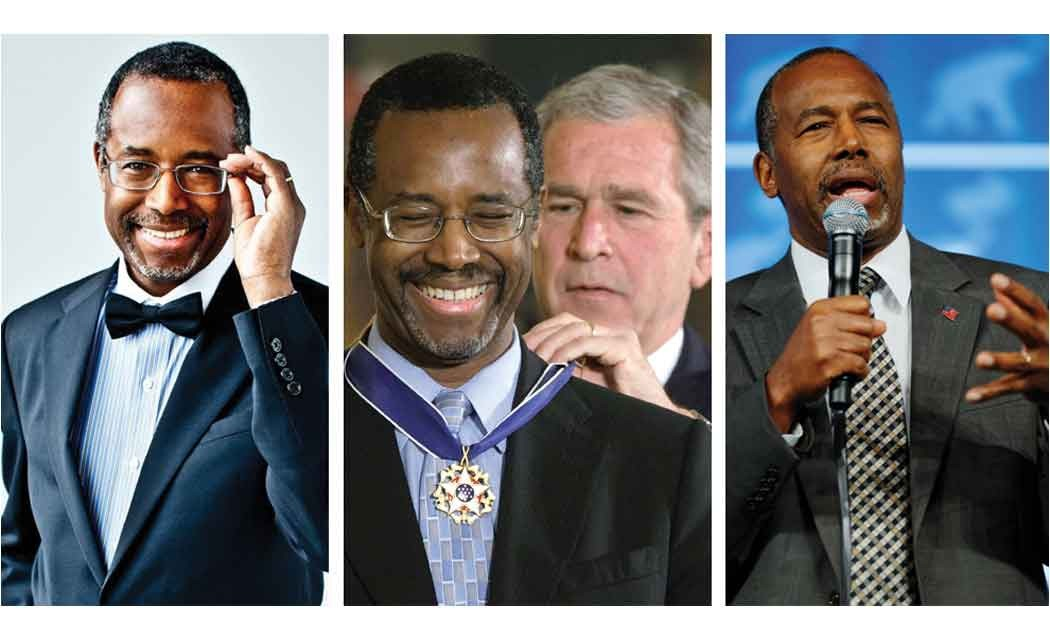 Carson-has-many-faces--Doctor,--author,-speaker---and-candidate