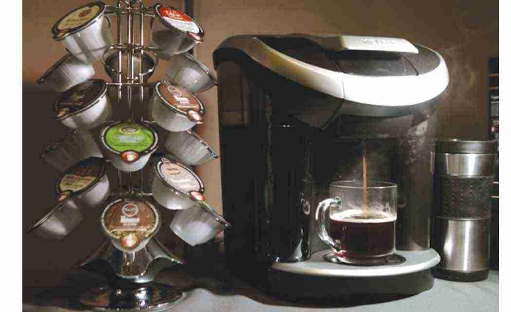 how to operate a keurig coffee machine