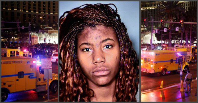 Las Vegas strip Accident