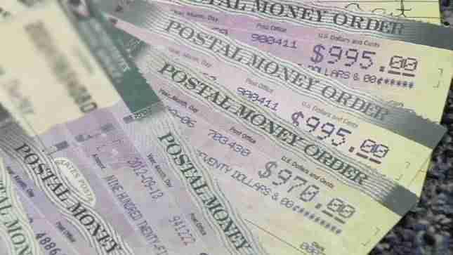 Postal Money Orders