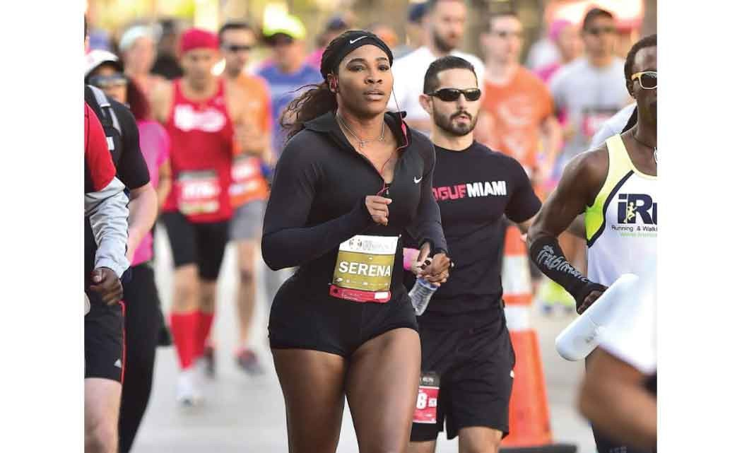 Serena-Williams--combines-fitness--and-charity-with-5K