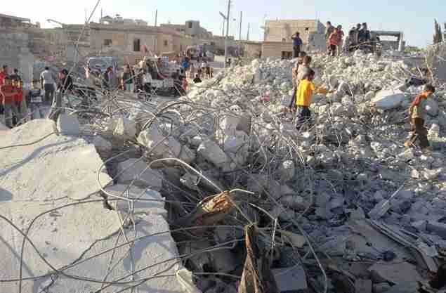 Syria Bombed