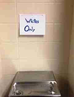 Whites Only