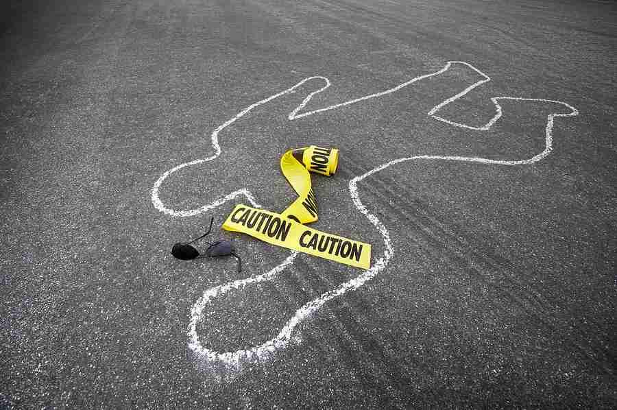Police Chalk Line