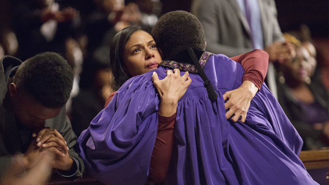 """New original drama series from award-winning writer/producer Craig Wright (""""Six Feet Under,"""" """"Lost"""") that takes viewers into the unscrupulous world of the Greenleaf family and their sprawling Memphis megachurch, where scandalous secrets and lies are as numerous as the faithful."""