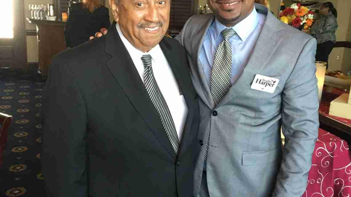 Judge Edward Rodgers (L)  and Attorney Bradley Harper (R)