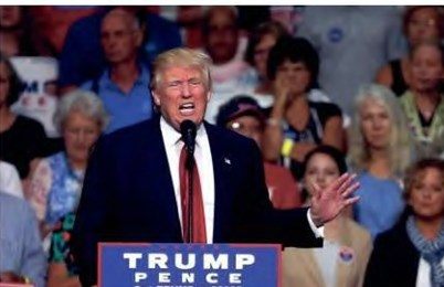 Trump staffers offer racism, religious war posts