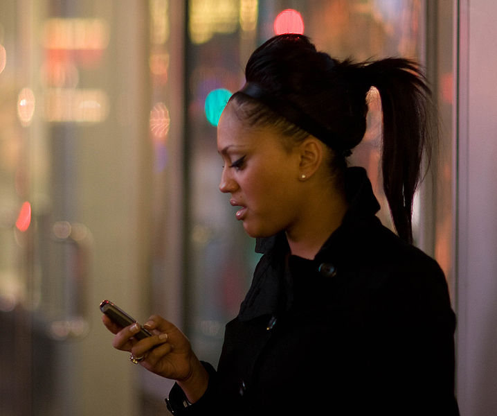 texting_with_a_ponytail