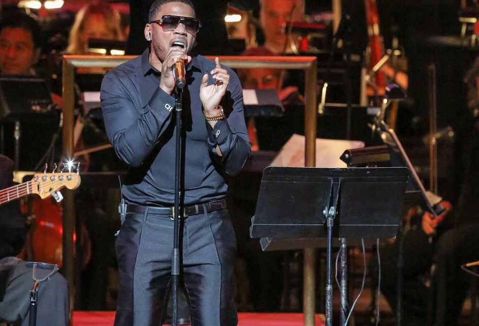 Nelly Perform with Symphony