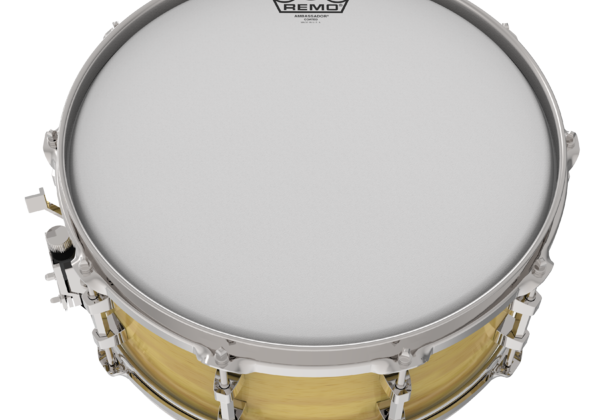 Drumhead_Coated_on_Snare_Drum